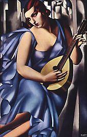 Τamara de Lempicka: Η μουσικός