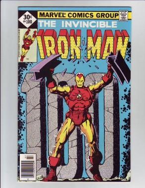 εξώφυλλο κόμικ iron-man