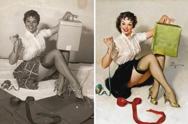 φωτογραφία πριν και μετά το Photoshop