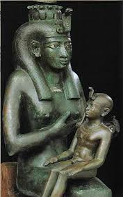 """""""Η Ίσις θηλάζουσα τον Ώρο"""", Βατικανό, Αιγυπτιακό Μουσείο"""