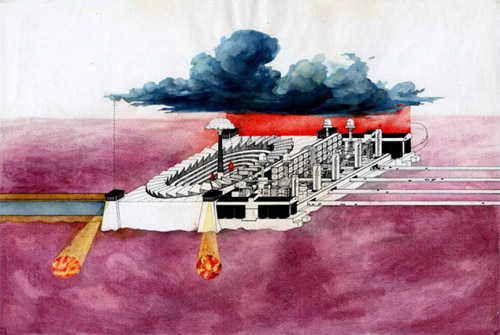 Peter-Wilson-The-Fire-2-Industry-AA-Diploma-project-1974