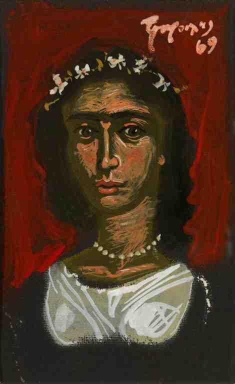 φαγιούμ πορτρέτο Γιάννη Τσαρούχη