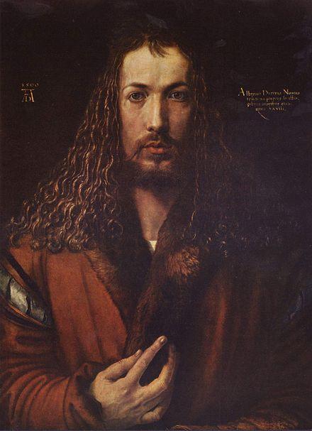 Άλμπρεχτ Ντύρερ αυτοπροσωπογραφία