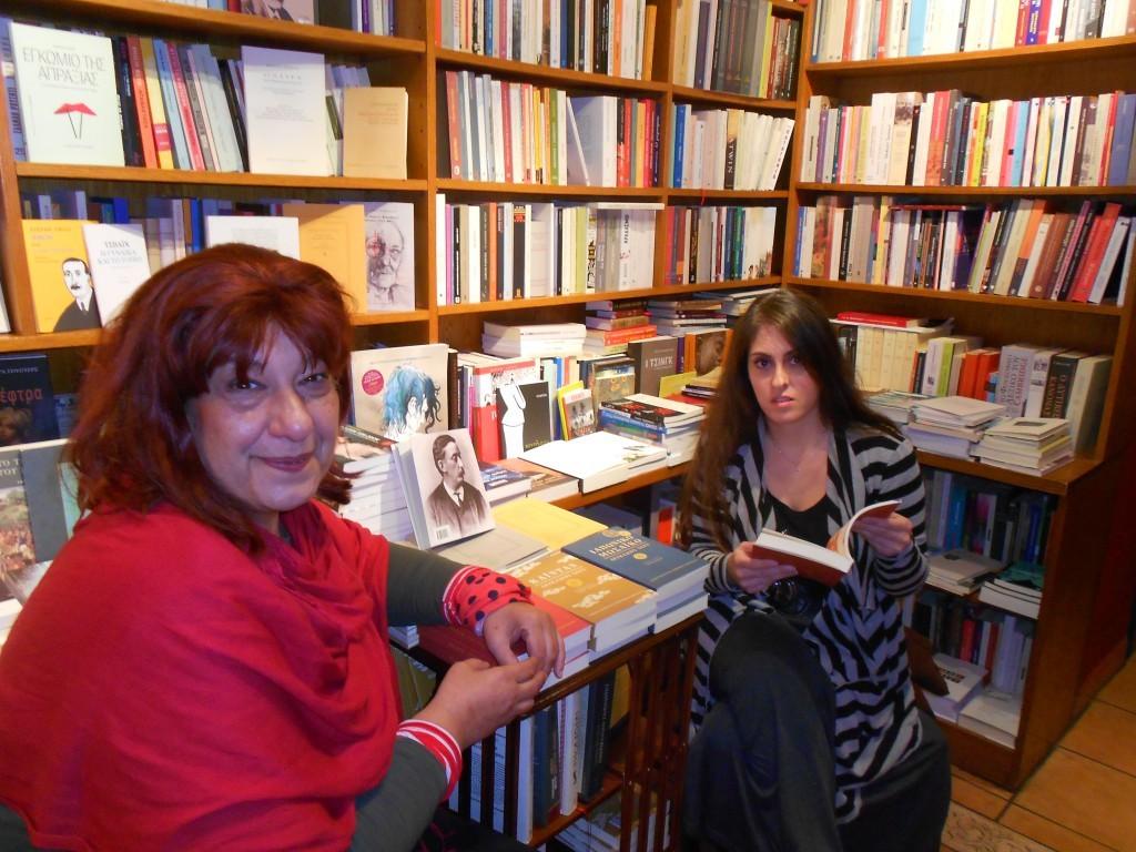 Η Τετη Σώλου μαζί με την Άννα Καρτάλη