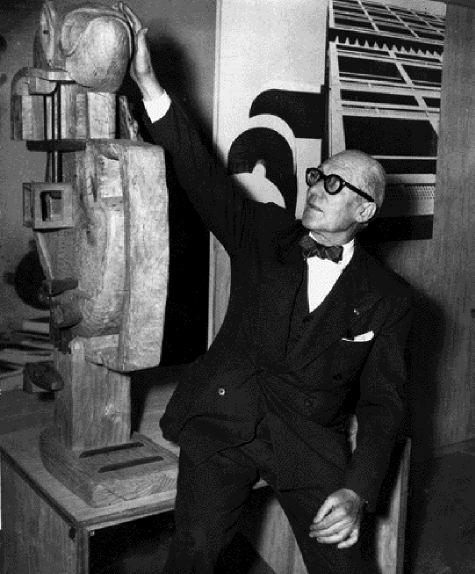 Φωτογραφια του Le Corbusier