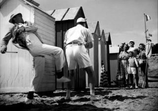 Σκηνή από την ταινία «Οι διακοπές του κύριου Ιλό»