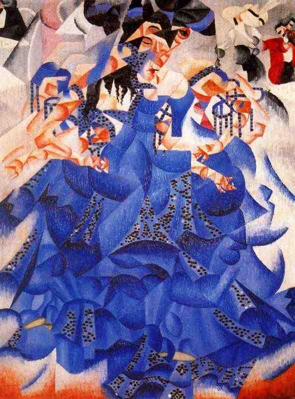 «Η μπλε χορεύτρια» Τζίνο Σεβερίνι