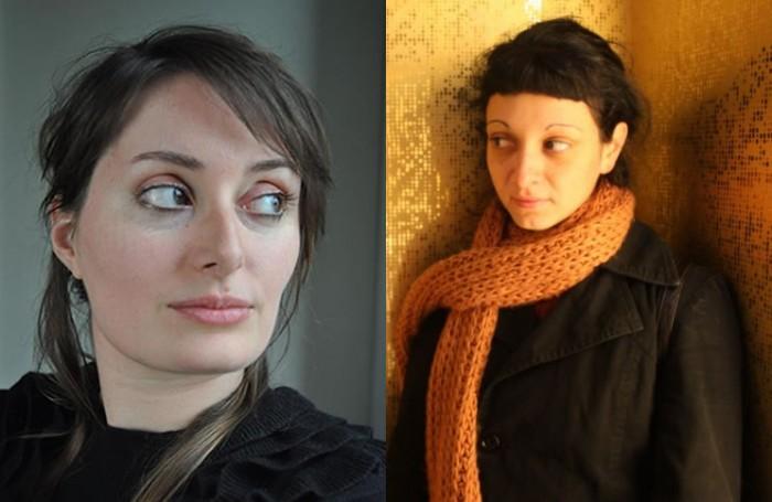 Λένα Καλλέργη και Άννα Γρήβα
