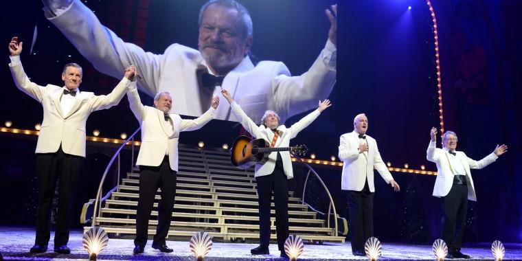 Στιγμιότυπο από την τελευταία παράσταση των Monty Python