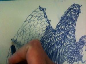'Ολγα Γουλανδρή. Ένα φτερό.