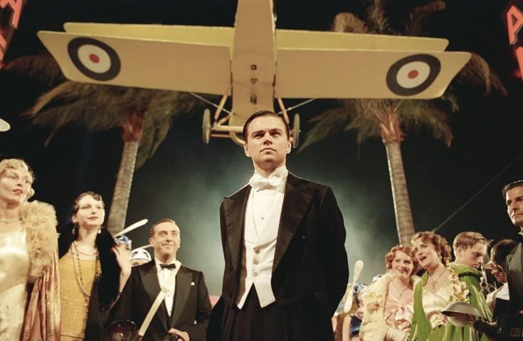 """Ο Λεονάρντο ΝτιΚάπριο στον «Ιπτάμενο Κροίσο» (""""The Aviator"""")"""