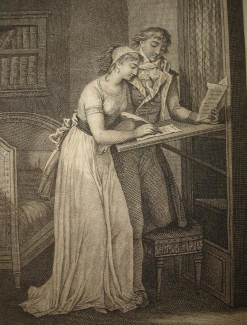 Επικίνδυνες Σχέσεις - Γκραβούρα από το πρωτότυπο βιβλίο