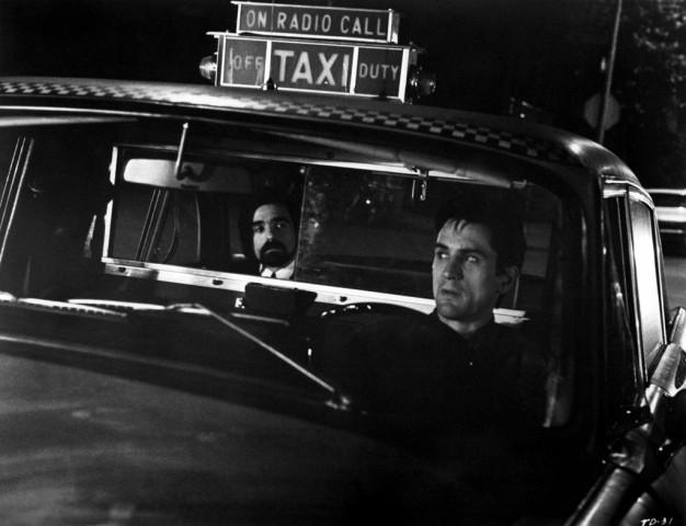 Ο Ρόμπερτ ΝτεΝίρο στον «Ταξιτζή» με επιβάτη τον Μάρτιν Σκορσέζε