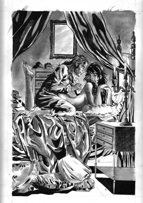 Οι Επικίνδυνες Σχέσεις του Λακλό - μελάνι