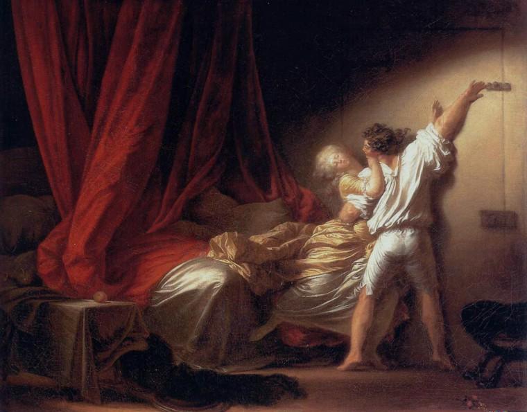 Οι Επικίνδυνες Σχέσεις του Λακλό - πίνακας