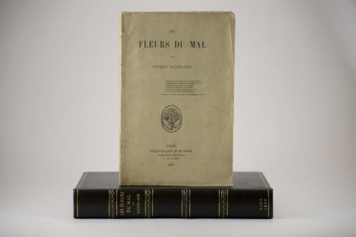 Les Fleurs du Mal ή Τα ανθη του κακου, το πρώτο εξώφυλο