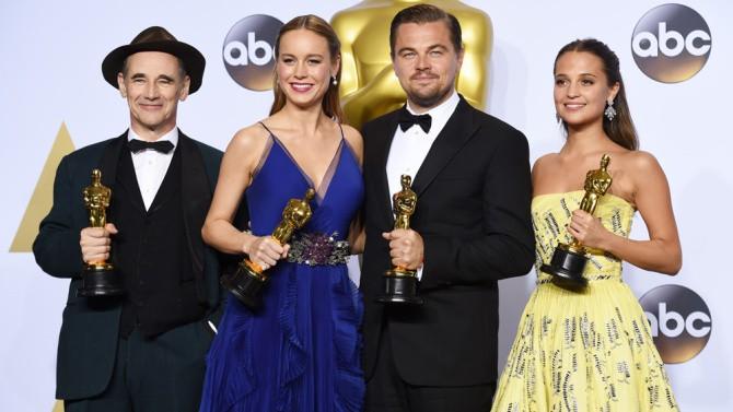 Νικητές Oscar 2016