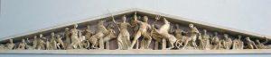 Φειδίας, δυτικό αέτωμα του Παρθενώνα.