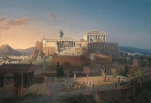 Η Ακρόπολη την εποχή που άκμασε ο Φειδίας.