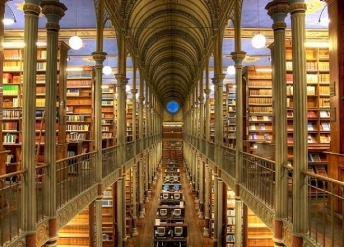 Η βιβλιοθήκη του πανεπιστημίου της Κοπεγχάγης