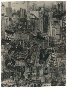 Paul Citroen - Metropolis (1923) - Dada