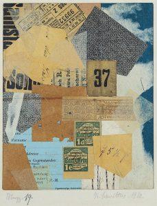 Kurt Schwitters - merz19 - Dada