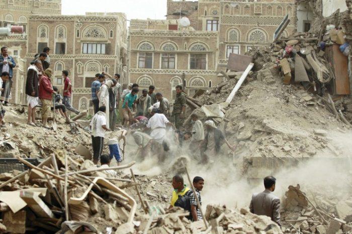 Υεμένη - αεροπορική επιδρομή σε τέμενος του 9ου αι
