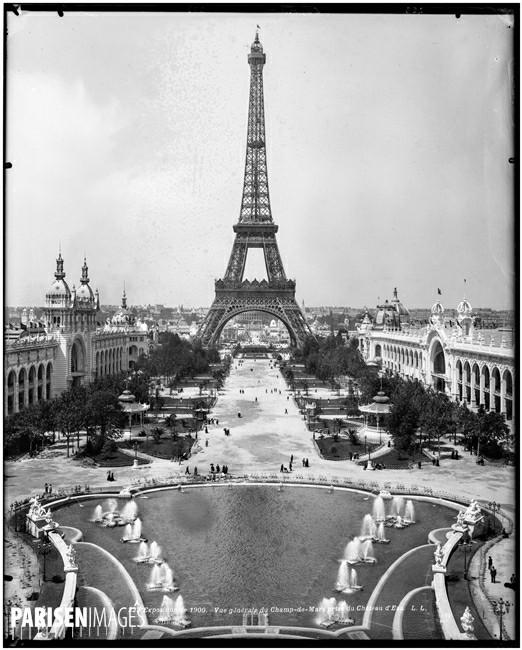 Ο Πύργος του Eiffel στο Παρίσι του 19ου αιώνα (images by parisenimages.fr)