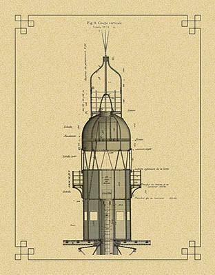 Ο Πύργος του Eiffel στο Παρίσι του 19ου αιώνα -Σχέδιο κατασκευαστικής λεπτομέρειας (images by parisenimages.fr)