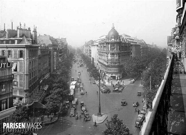 Ο Πύργος του Eiffel στο Παρίσι του 19ου αιώνα - Λεωφόροι του Haussmann (images by parisenimages.fr)