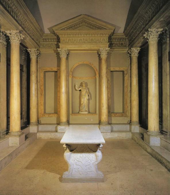 Αρχιτεκτονική των Βιβλιοθηκών- Βιβλιοθήκη στην έπαυλη του Ανδριανού