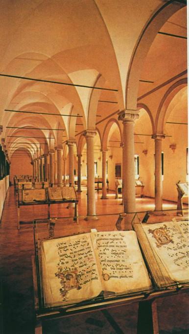 Αρχιτεκτονική των Βιβλιοθηκών- Μονή Αγίου Μάρκου