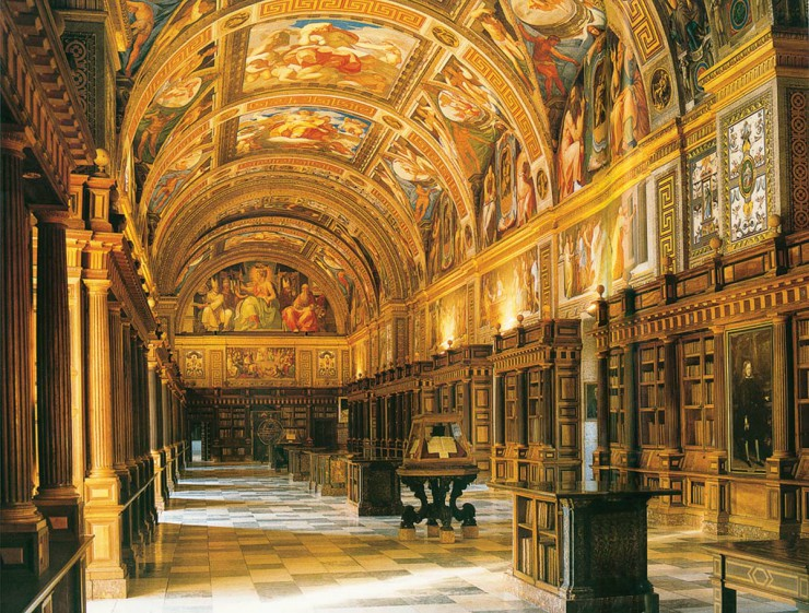 Αρχιτεκτονική των Βιβλιοθηκών- Escorial