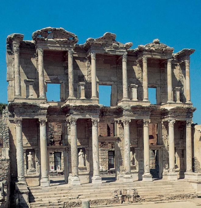 Αρχιτεκτονική των Βιβλιοθηκών- Βιβλιοθήκη του Κέλσου- Έφεσος