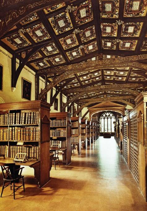 Αρχιτεκτονική των Βιβλιοθηκών- Thomas Bodley