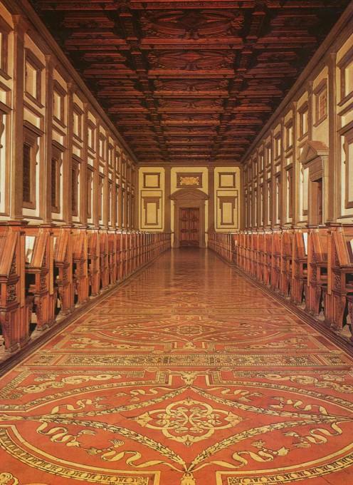 Αρχιτεκτονική των Βιβλιοθηκών- Βιβλιοθήκη των Μεδίκων
