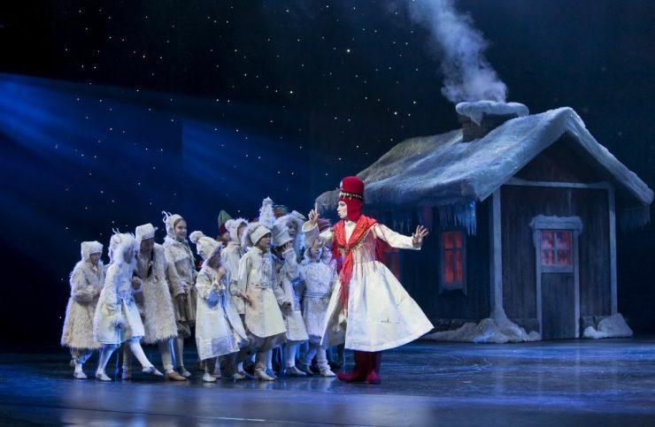 Η Βασίλισσα του Χιονιού Finnish National Ballet
