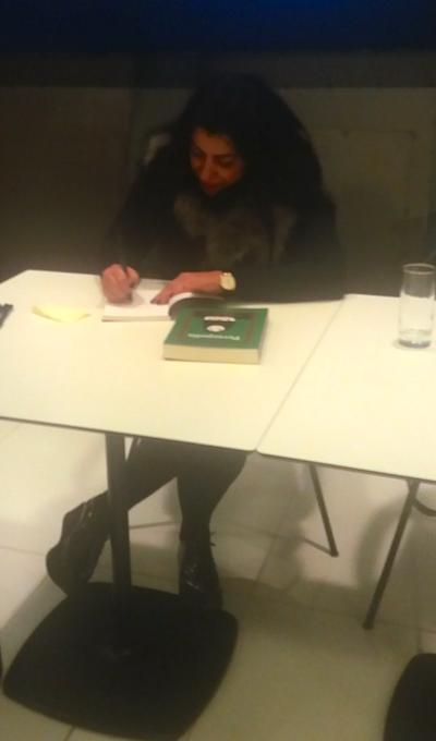 Η Marjane Satrapi στη Στέγη Γραμμάτων και Τεχνών