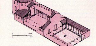 Βασιλική της Γέννησης- Αξονομετρική γραφική αποκατάσταση
