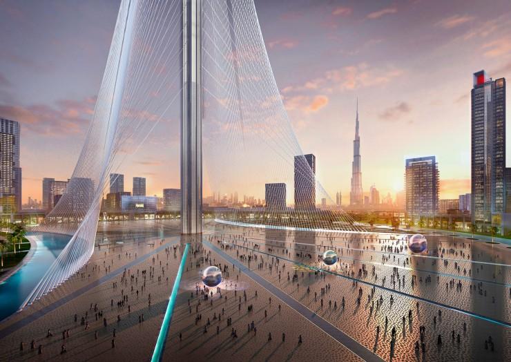 Dubai Creek Tower- Dubai Creek Harbour- Santiago Calatrava