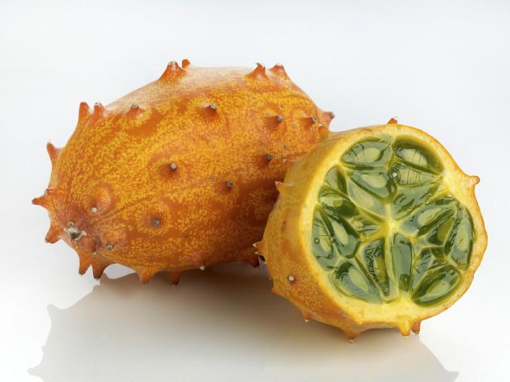 Τα φρούτα της Αφρικής - kiwano