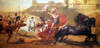 Franz Matsch, ο Θρίαμβος του Αχιλλέα, ΕΡΓΑ Έργα τέχνης εμπνευσμένα από τα ομηρικά έπη