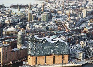 Η Elbphilharmonie στο Sandtorhafen