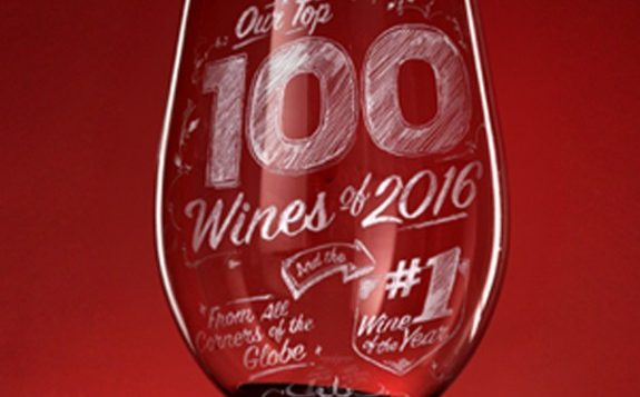 The Enthusiast 100, wine list
