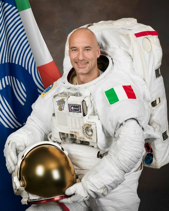 O Luca Parmitano, ομιλητής στην εκδήλωση Εξερεύνηση του Διαστήματος: Ρομποτικές και Επανδρωμένες Αποστολές