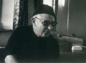 Ο ποιητής και πεζογράφος Νίκος Καββαδίας.