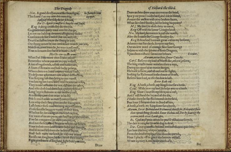 Ουίλιαμ Σαίξπηρ , Ιδιόχειρο κείμενο
