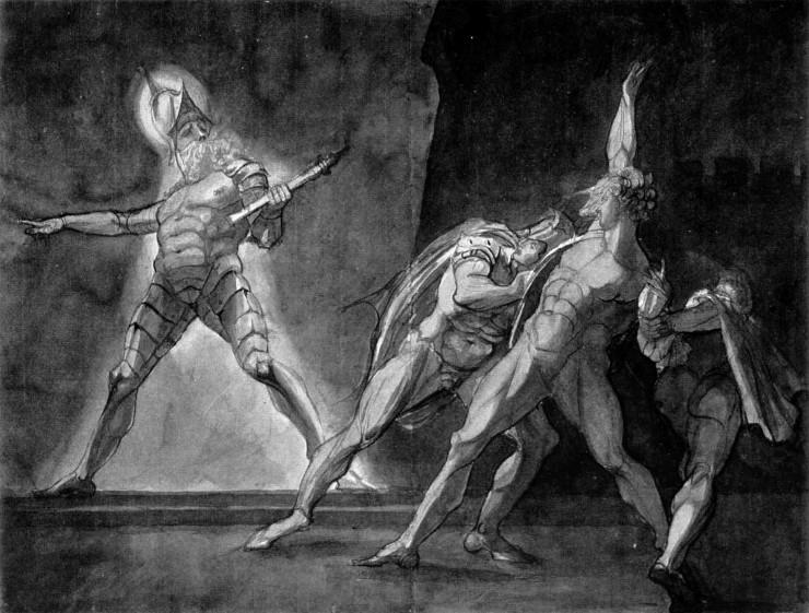 Ουίλιαμ Σαίξπηρ , πίνακας