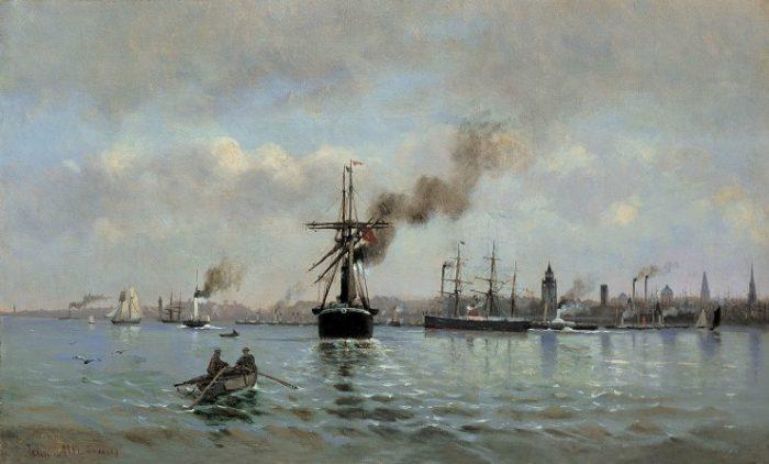 Παρά θίν' αλός: Θαλασσινά Θέματα στην Νεοελληνική Ζωγραφική, Β. Μ. Θεοχαράκη