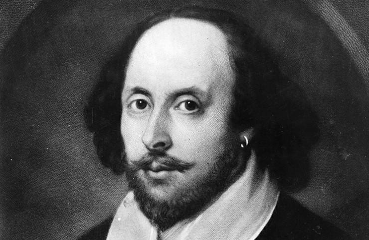 O Ουίλιαμ Σαίξπηρ - William Shakespeare portrait